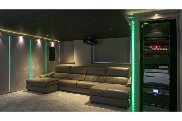 Inside garage conversion
