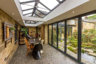 sunroom in glasgow west end
